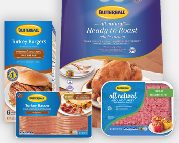 Selection of Butterball Products