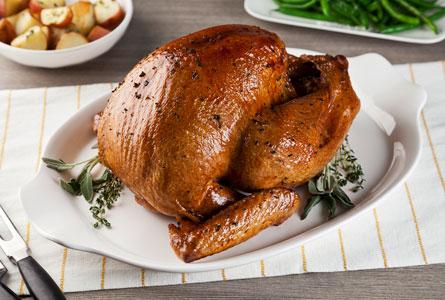Apple cider marinated Turkey