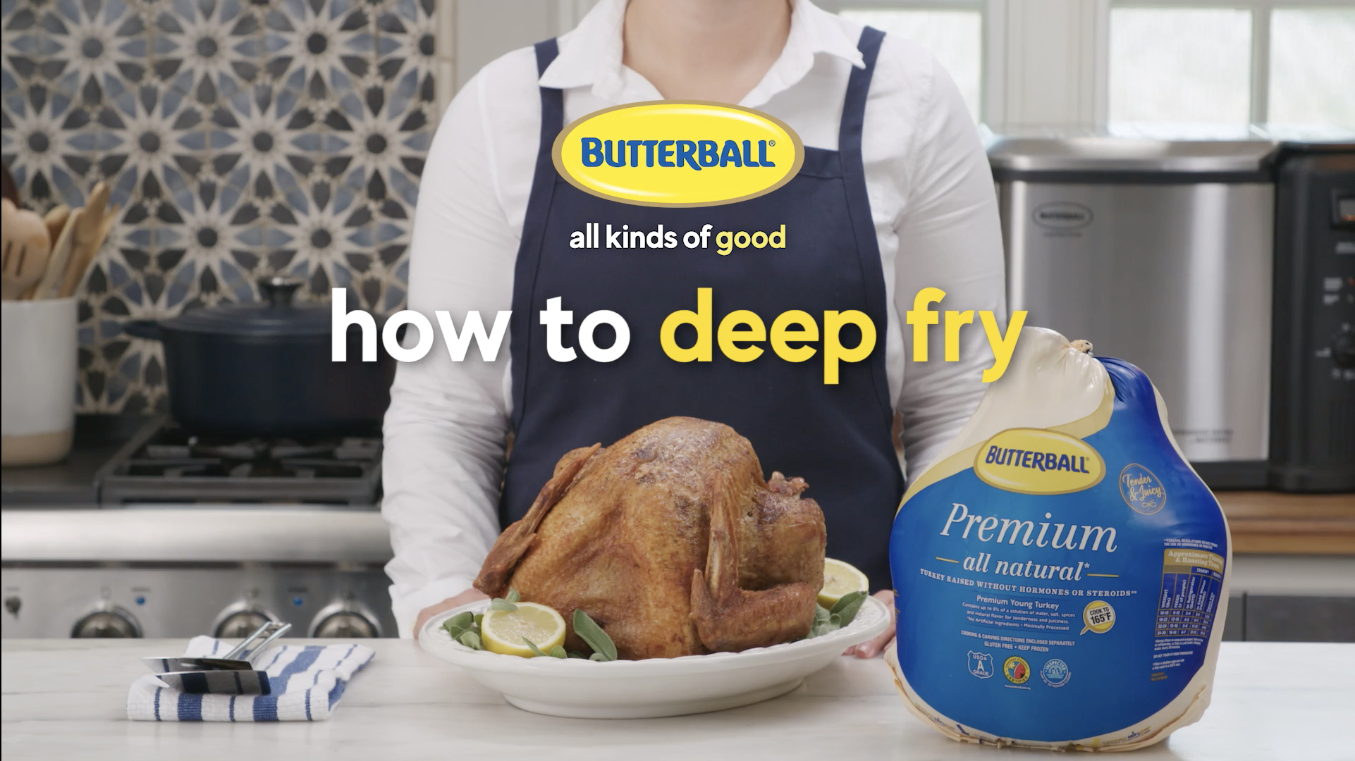 Butterball How to deep fry video thumbnail