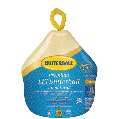 Frozen Li'l Butterball® Package