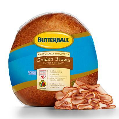 Golden Brown Turkey Breast Package