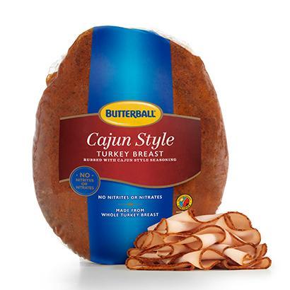 Cajun Turkey Breast Package