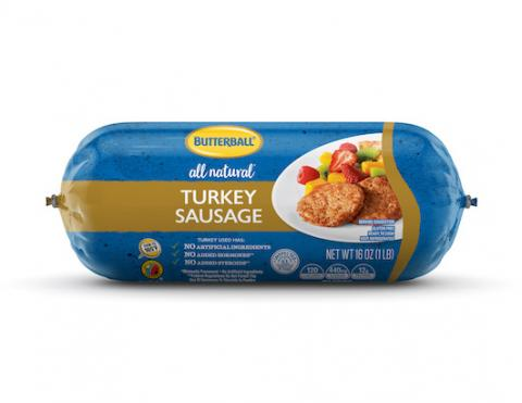Butterball All Natural* Fresh Turkey Sausage Package
