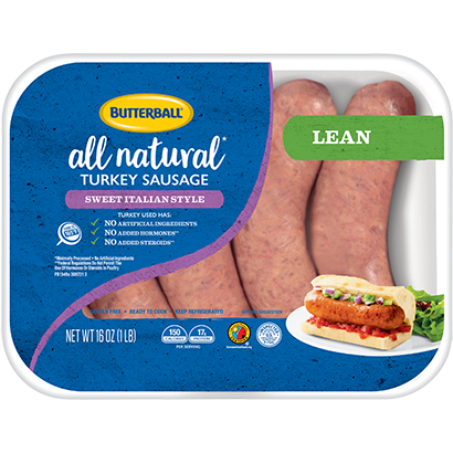Fresh Sweet Italian Turkey Sausage Package